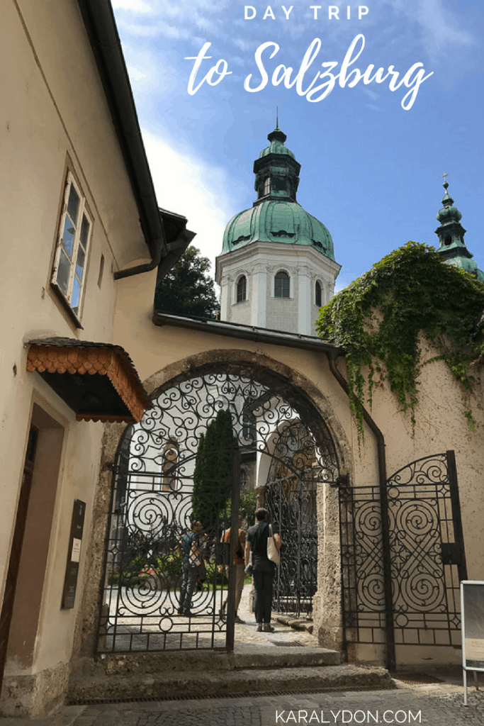 Traveling to Salzburg for the day and not sure what to see and where to eat? I gotcha covered as I walk you through my day trip to Salzburg from Munich.