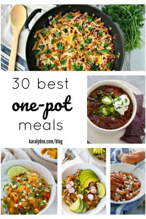 30 Best One Pot Meals