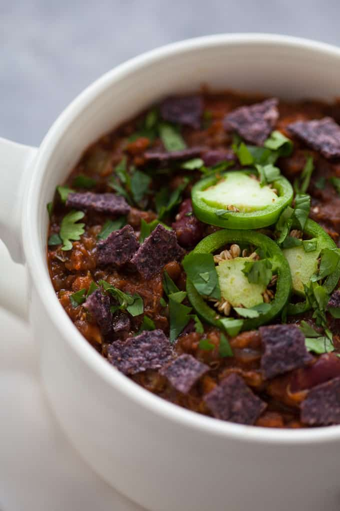 The Best Instant Pot Vegetarian Chili