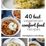 40 Best Vegetarian Comfort Food Recipes