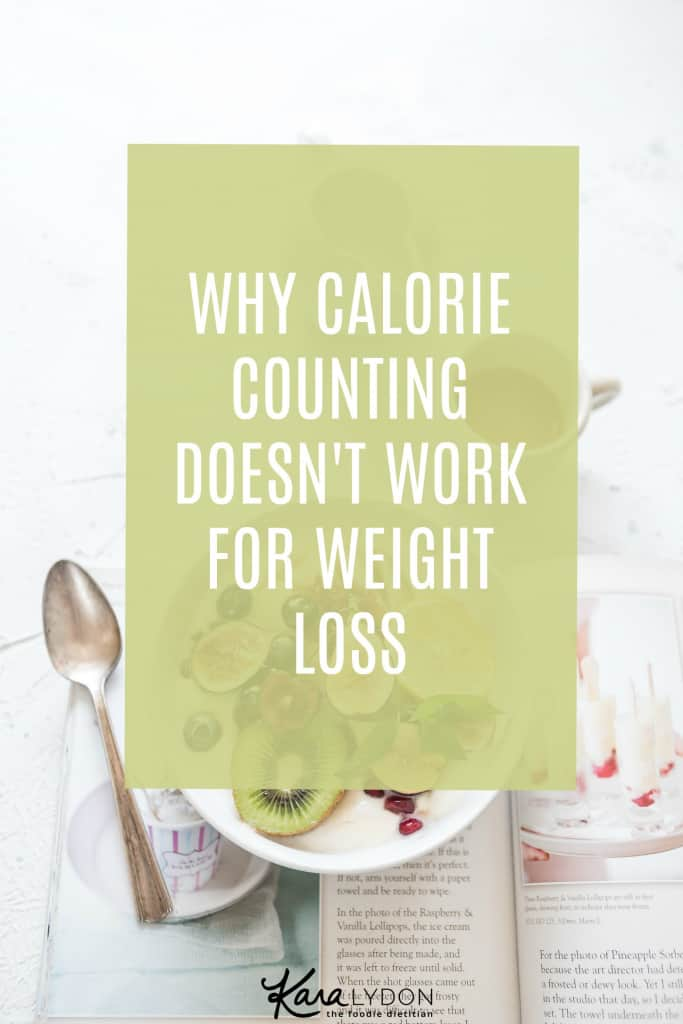 counting calories weight loss