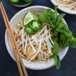 Instant Pot Vegetarian Pho (Vietnamese Noodle Soup)