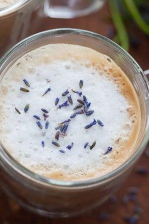 Cozy Lavender Almondmilk Latte