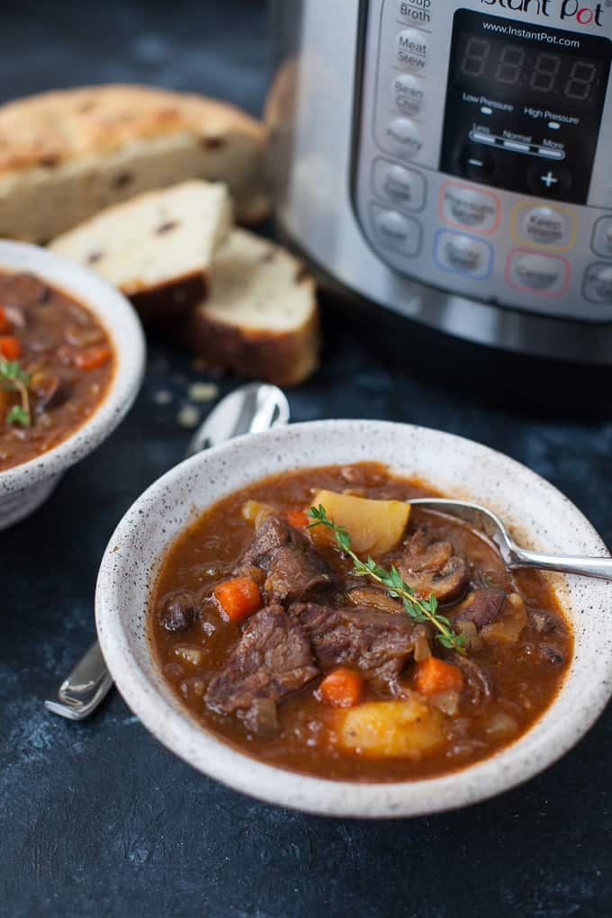 Instant Pot Guinness Beef Stew