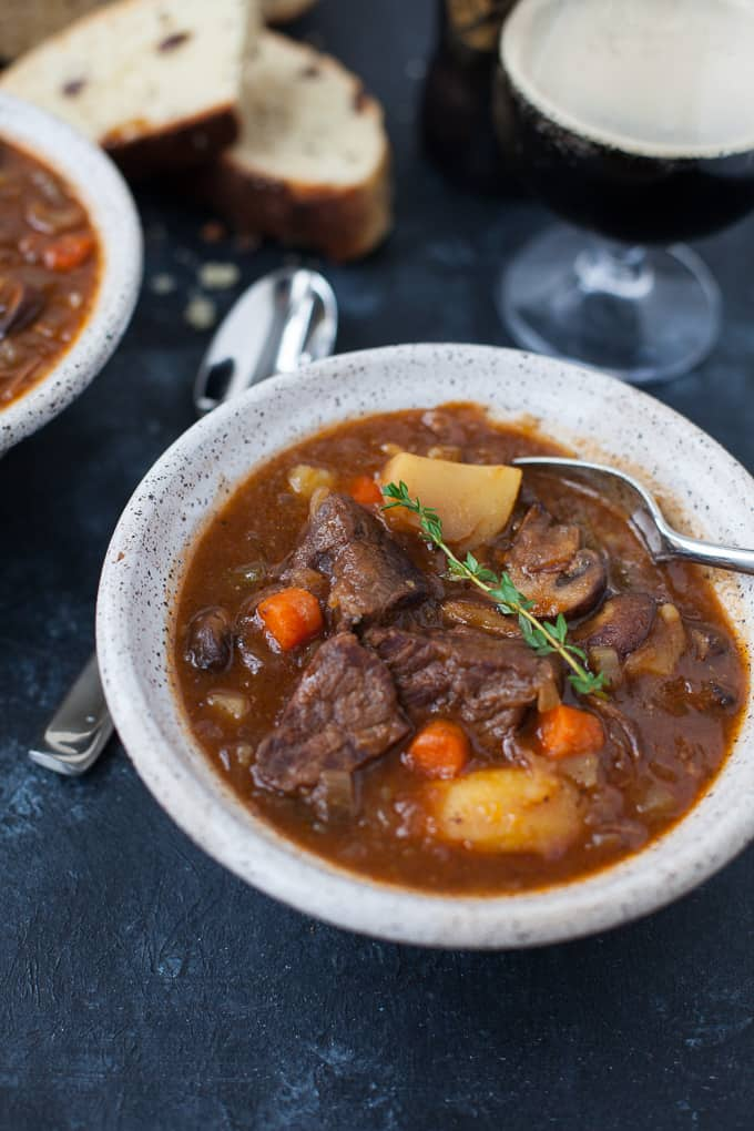 Instant Pot Guinness Beef Stew Recipe
