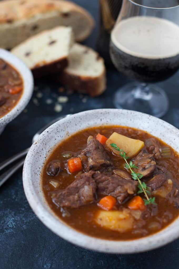 Instant Pot Irish Guinness Beef Stew