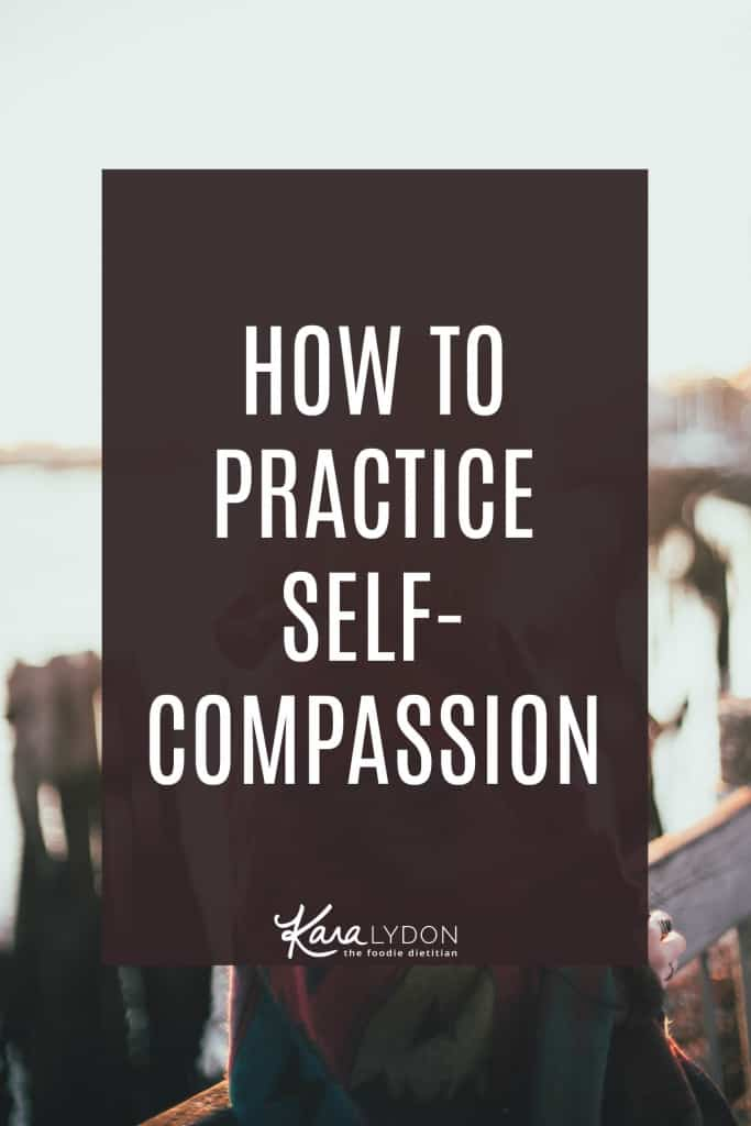 We've all heard that we should be more compassionate with ourselves but what exactly does this look like? Today we're breaking down how to practice self-compassion and why it's so crucial to your intuitive eating journey.