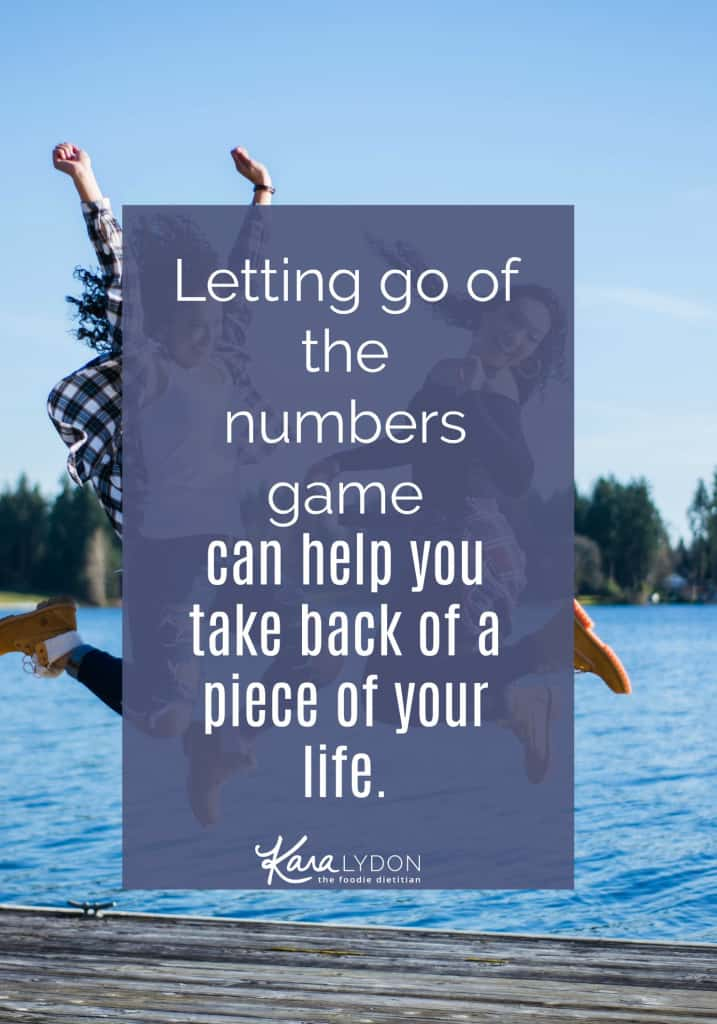 How is your ED or diet culture acting as a life thief (love this term from Christy Harrison of Food Psych)? Are you willing to let go of the numbers to take back a piece of your life? #intuitiveeating #antidiet
