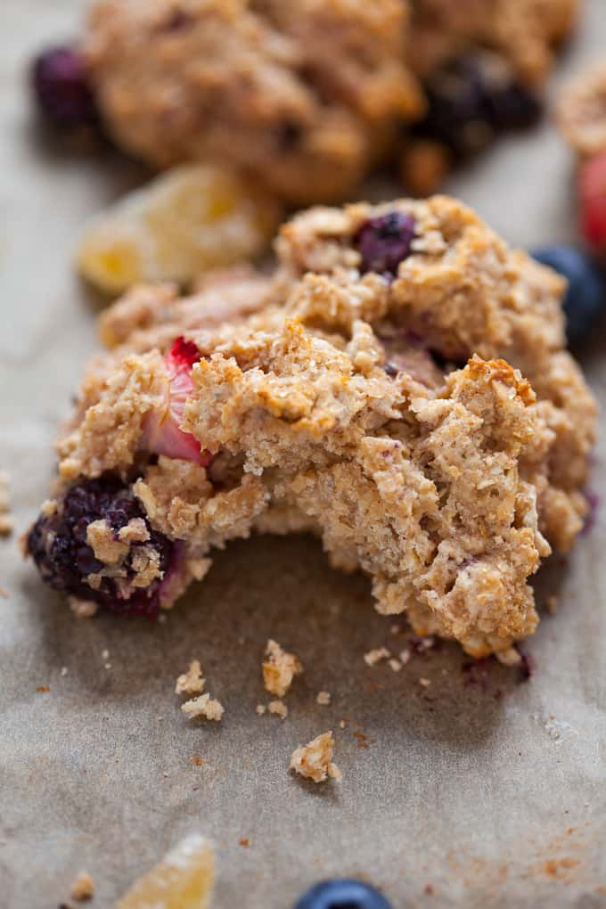 Whole Grain Triple Berry Ginger Scones #MothersDay