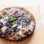 Vegan Berry Upside Down Cake