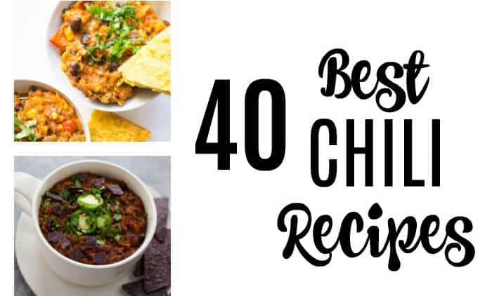 40 Best Chili Recipes