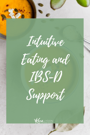 Intuitive Eating and IBS-D