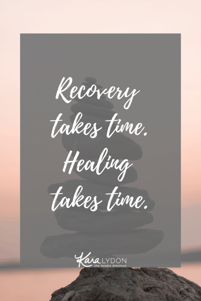Recovery takes time. Healing takes time. #recovery #healing