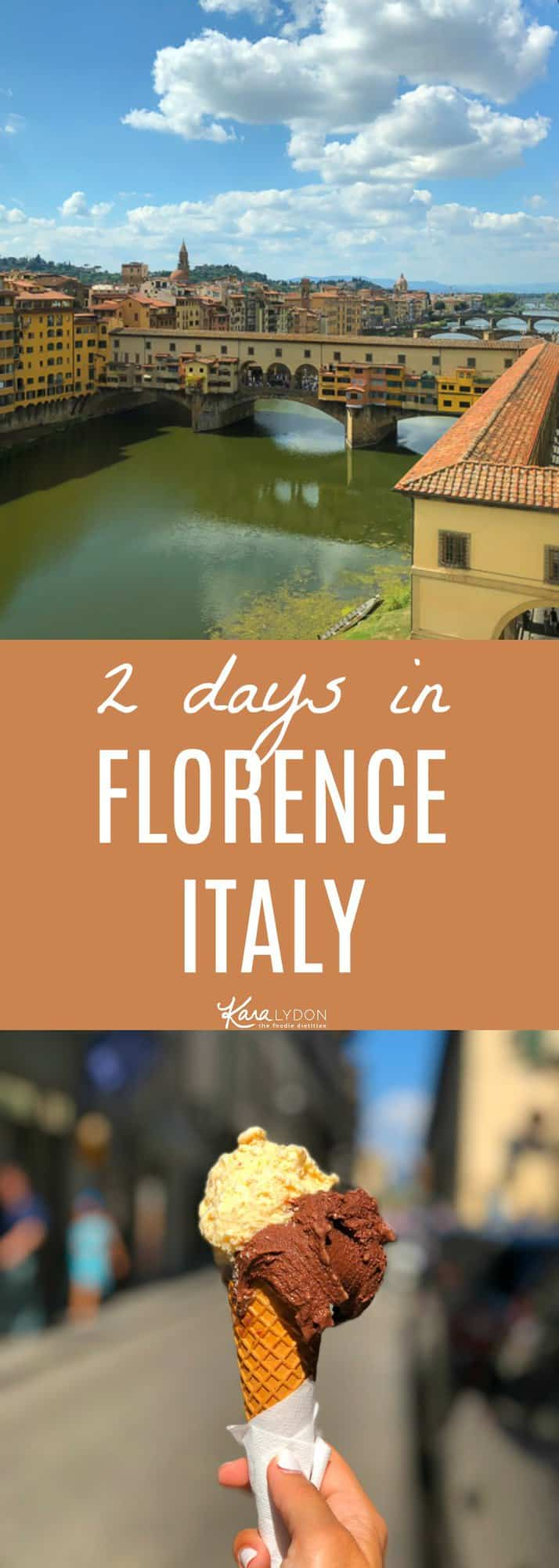 Recapping our two days in Florence, highlighting what to see and where to eat! #travel #florence #italy