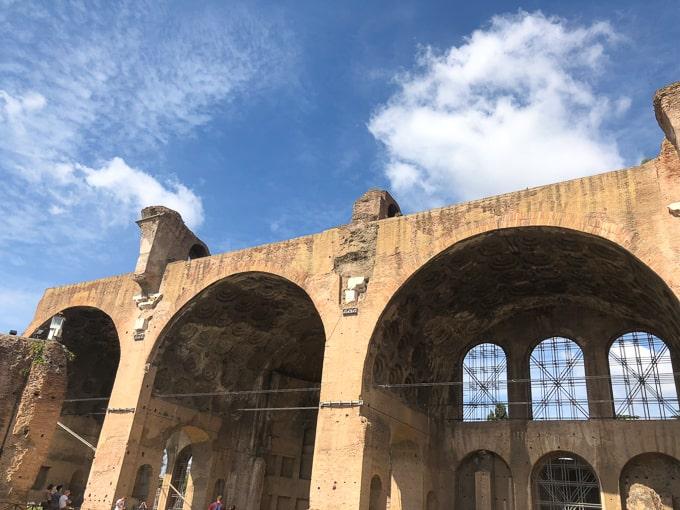 3 days in rome - roman forum