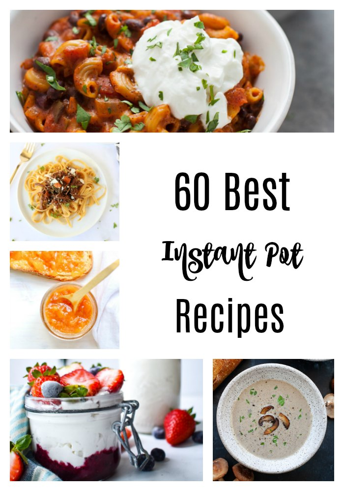If you're short on time, the Instant Pot has got your back! These 60 best Instant Pot recipes make weeknight dinners or early breakfasts easier for busy schedules. #InstantPot