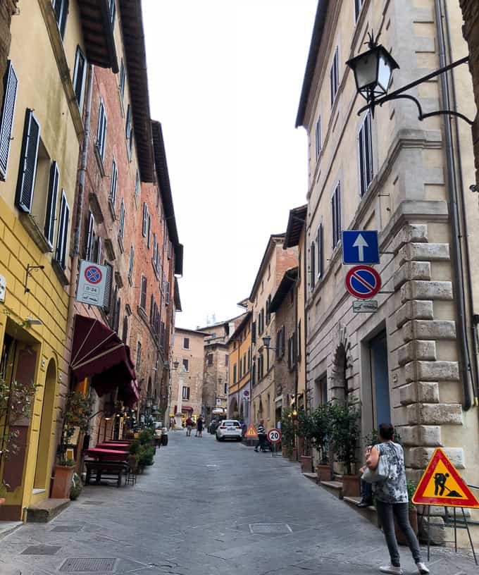 3 days in montepulciano italy