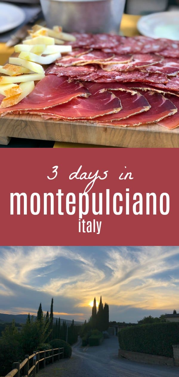 Sharing a recap of where to go and what to do in Montepulciano, Italy, aka the best spot in Tuscany! 3 Days in Montepulciano #travel