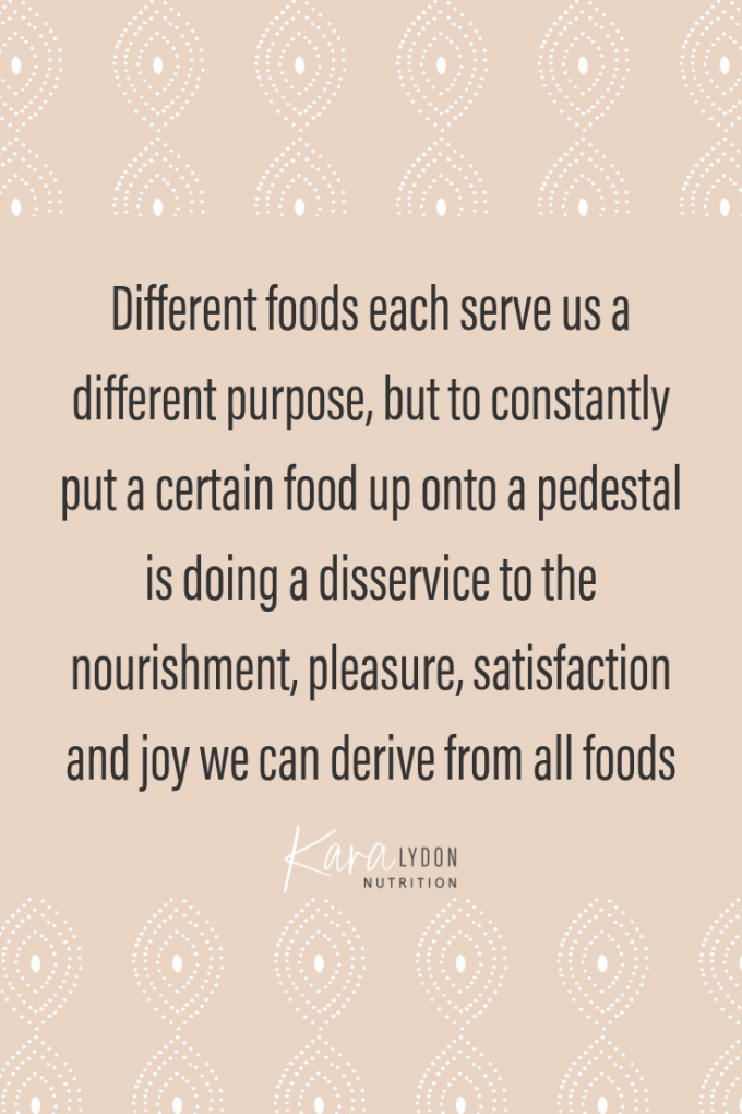 inspirational quote about intuitive eating