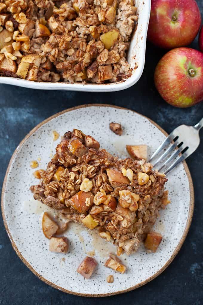 apple pie baked oatmeal 6 2