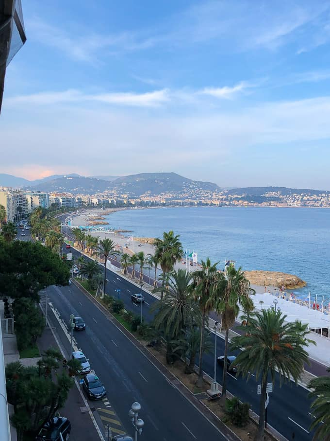 mountain views in Nice, France