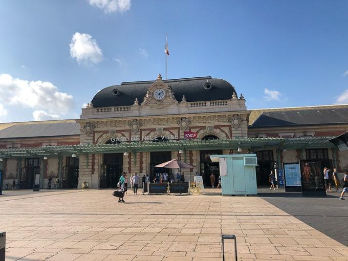 Gare De Nice Ville train station