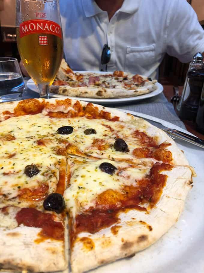 local pizza in Monaco