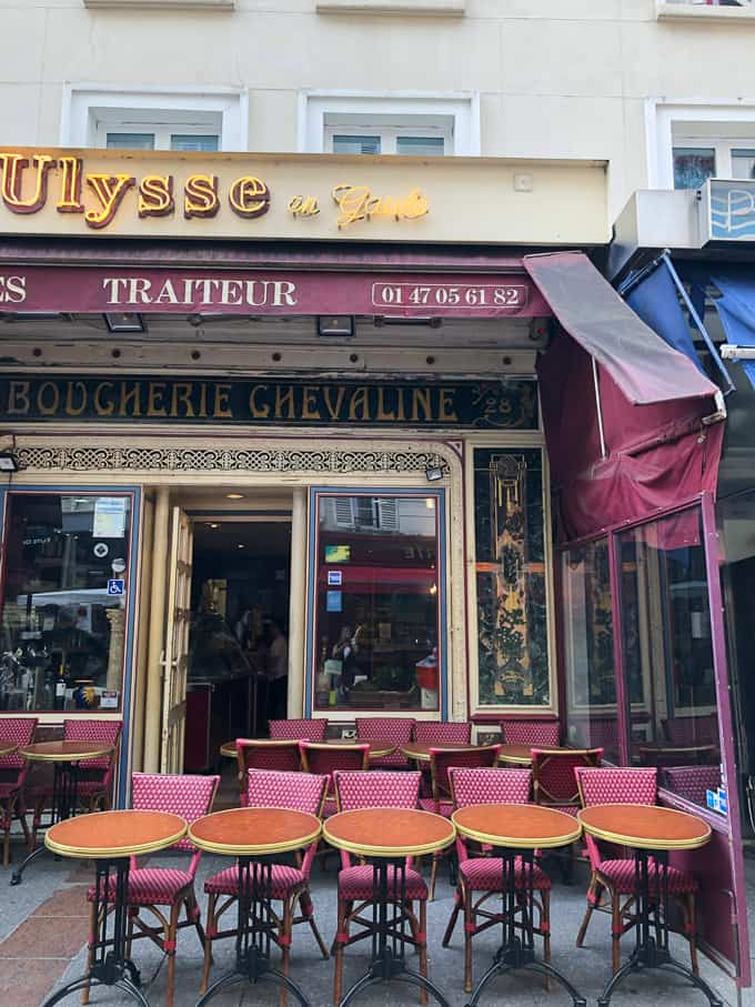 Ulysse en Galue in Paris