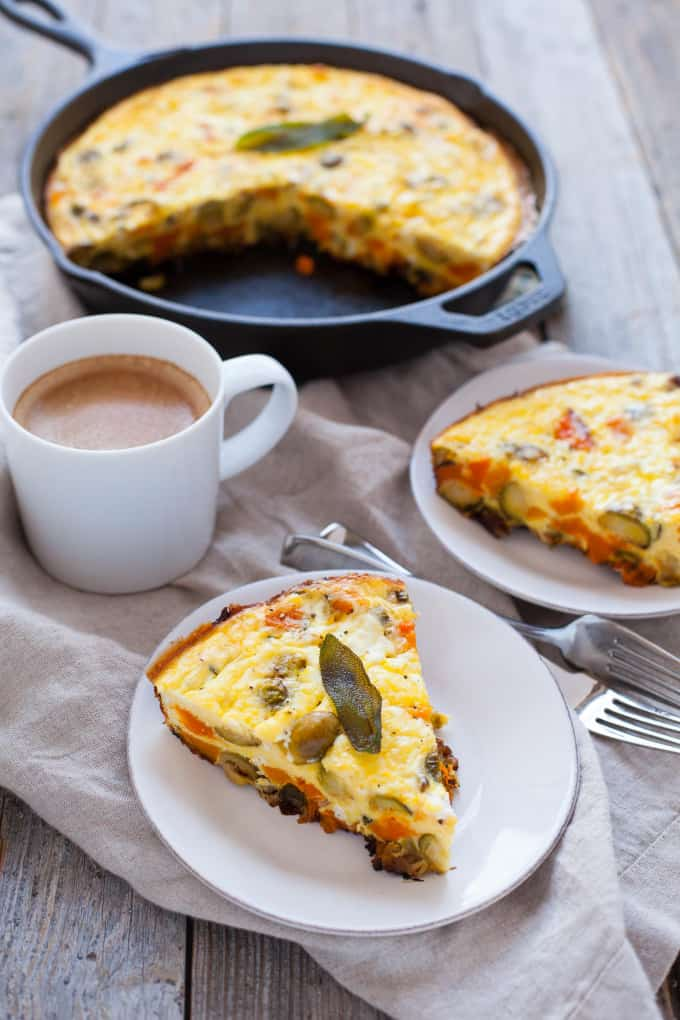 thanksgiving breakfast fritatta