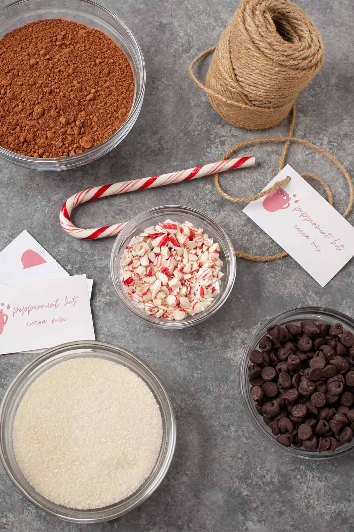 peppermint hot chocolate ingredients