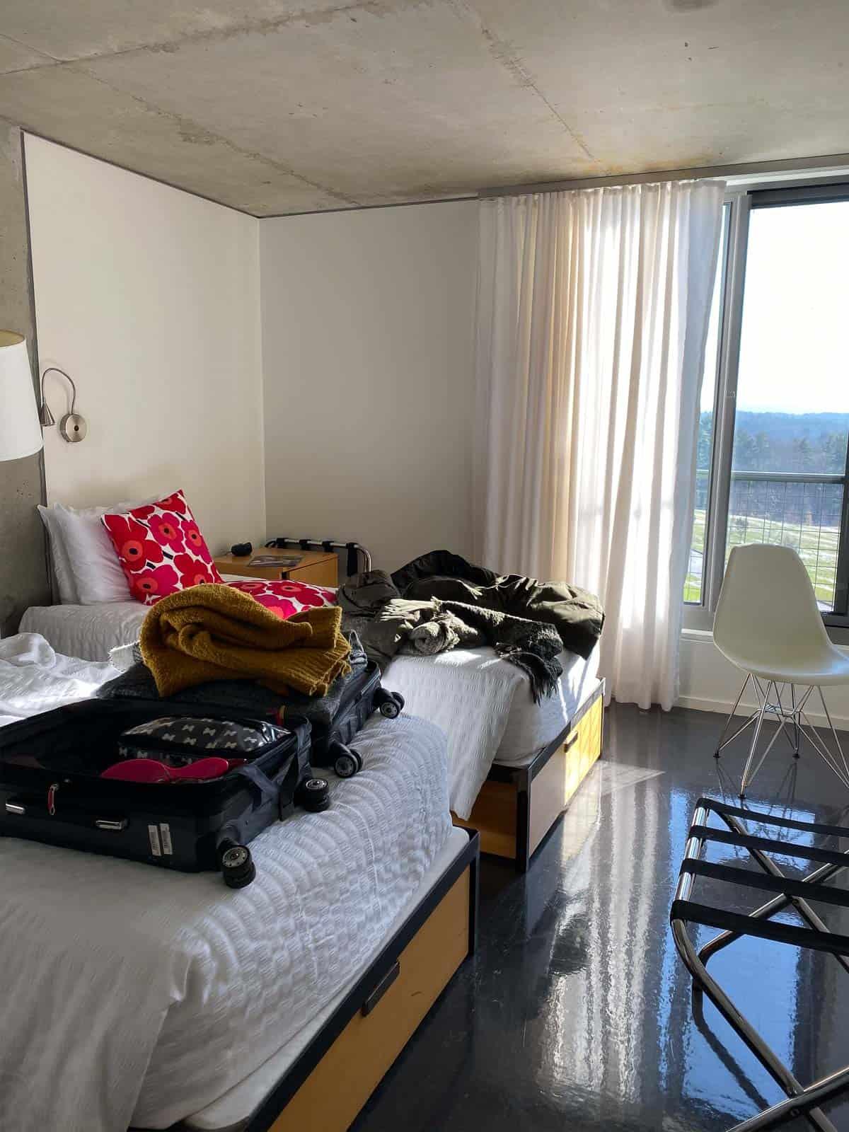 Kripalu lodging accommodations